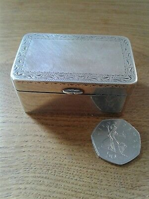 ANTIQUE GEORGE III MASSIVE  UNMARKED(TEST'S AS SILVER) TABLE NUTMEG GRATER C1780 • 465£