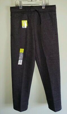 $14.50 • Buy Tek Gear Boys 8 / 14-16 Ultrasoft Fleece Pants DARK GRAY Stretch Waist #26819