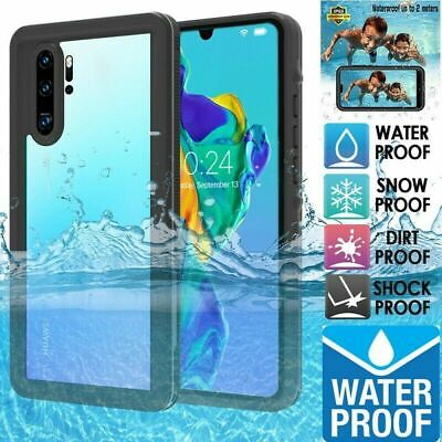 For Huawei Mate 20 Pro P30 Lite Waterproof 360° Full Body Shockproof Case Cover • 14.59£