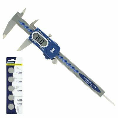 Moore And Wright Digital Caliper MW110-15DBL 0-150mm (6-0 Inch) 110 Series • 25.99£