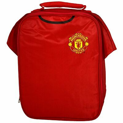 Manchester United Kit Lunch Bag New School Picnic Days Out Gift Birthday • 10.99£