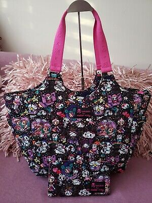 05b31587d Tokidoki X Hello Kitty Sanrio Ltd. Ed. Cosmic Quilted Tote Bag & Wallet Set