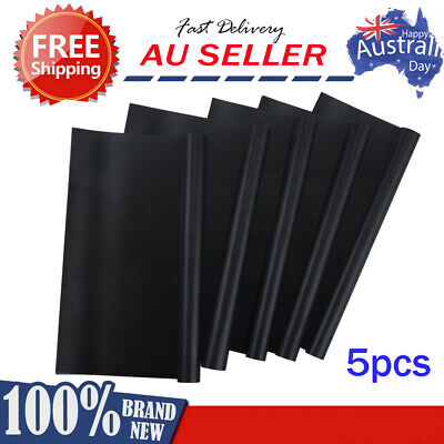 AU21.95 • Buy 5X BBQ Grill Mat Reusable Bake Sheet Resistant Teflon Meat Barbecue Non-Stick AU