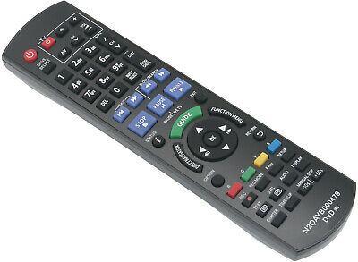 AU17.49 • Buy N2QAYB000479 N2QAYB000475 Remote Fit For Panasonic DVD DMRXW385GL DMRXW480GL