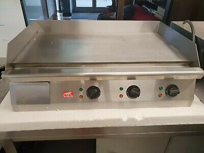 Sher Commercial Electric Griddle BBQ Grill Flat Hotplate Price Incl VAT  • 420£