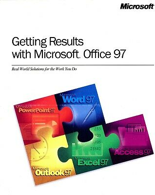 Getting Results With Microsoft Office 97 Excel/Word/Access/Powerpoint/Outlook🆕 • 14.99£