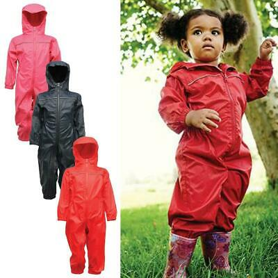 Kids Waterproof Rain Suit 6 Mouth - 6 Years, Regatta Unisex Breathable Rain Suit • 40.99£