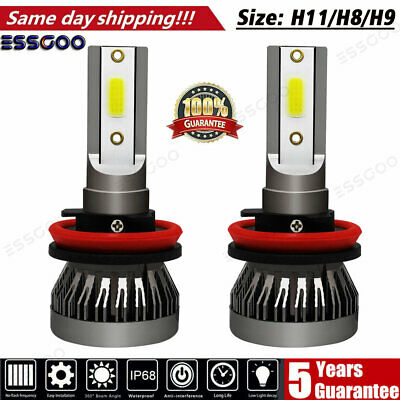 AU16.99 • Buy H11 H8 H9 LED Headlight Fog Light Bulbs 72W 9000LM 6000K High Power Xenon White