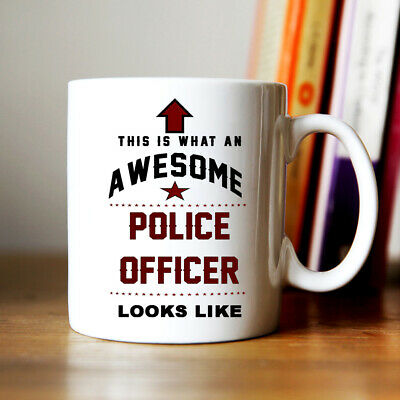 £7.99 • Buy Gift For Police Officer Awesome Novelty Coffee Mug