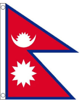 £9.99 • Buy Genuine Nepal National Flag - Genuine And Strong (3 X 5 Ft)