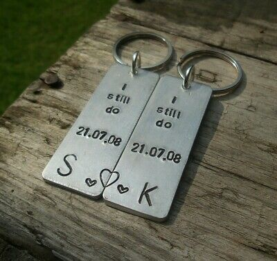 Pair Of I STILL DO Anniversary Gifts Personalized Wedding 10th 6th 11th 1st 2nd • 15.99£