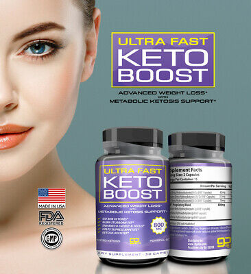 $12.35 • Buy ☀ Best Keto Diet 800 Mg Burn Fat- ULTRA FAST KETO BOOST- Weight Loss 30 Capsules