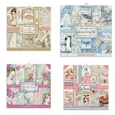 £9.49 • Buy Stamperia 8  X 8  Paper Pack 25 DESIGNS - New Release From Stamperia Free UK P&P
