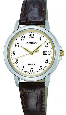 $ CDN175 • Buy Seiko Solar Ladies Watch SUT375P9