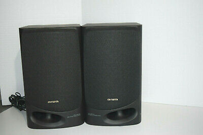 $15.99 • Buy Pair Aiwa SX-N5200 50W 3 Way Twin Duct Bass Reflex Surround Sound Speaker System