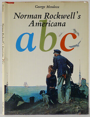$ CDN287.08 • Buy Norman Rockwell Signed Americana A B C 1975 Trade Edition George Mendoza