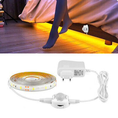 1M-5M LED Cabinet Light Motion Sensor 2835 SMD LED Strip Lamp With Power Supply • 9.99$