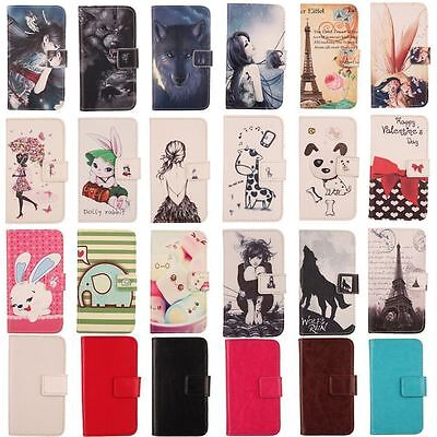 AU11.98 • Buy Phone Flip Book PU Leather Cover Etui Skin Case Folio Wallet For Smartphone