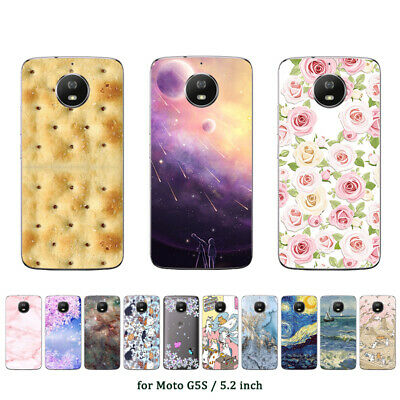 AU4.45 • Buy Soft TPU Case For Motorola Moto C M X4 E4 E5 G5S G7 Plus Play Power Cover Star