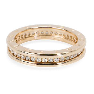 AU4080.63 • Buy Bulgari B. Zero 1 Diamond Ring In 18KT Yellow Gold 0.6 CTW