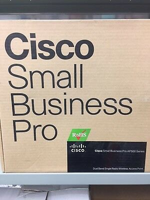 Cisco AP541N-A-K9 V01 Wireless Small Business Access Point W/ AC Adapter • 227.31$