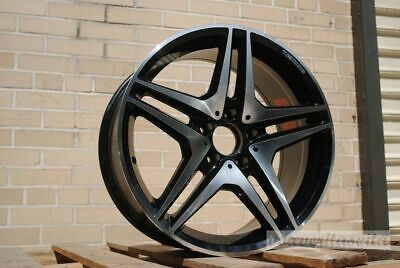 $780 • Buy 19  Black Amg Style Wheels Rims Fits Mercedes Benz S300 S320 S430 S500 S550