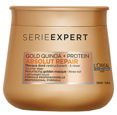 L'Oreal Serie Expert Absolut Repair Gold Quinoa + Protein Resurfacing Masque • 15.99£