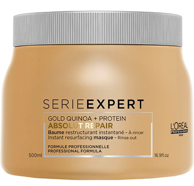 L'Oreal Serie Expert Absolut Repair Gold Quinoa + Protein Light Golden Masque • 19.99£