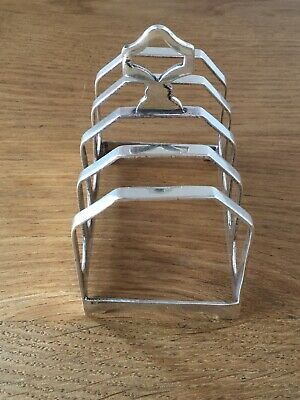 Antique Solid Silver Toast Rack Sheffield 1939 • 75£