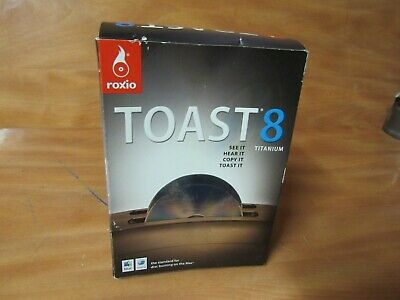 £28.39 • Buy Roxio Toast 8 Titanium For MAC. New Sealed In Distressed Box. FAST FREE SHIPPING