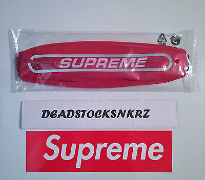 $ CDN93.83 • Buy Supreme Running Waist Bag Red SS19A54 3M Reflective 100% Authentic