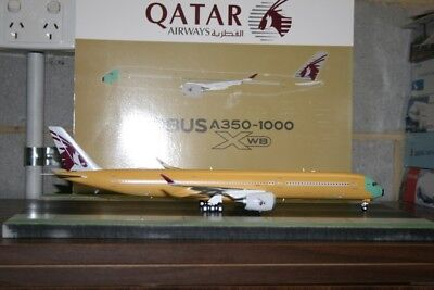 AU168 • Buy JC Wings 1:200 Airbus Industries A350-1000 F-WZNR  Qatar Bare Metal  (LH2089)