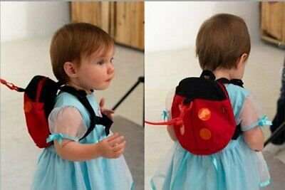 Baby Toddler Safety Harness Reins Backpack-Lady Bird Style • 5.99£