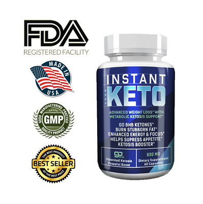 $21.20 • Buy Instant Keto, Helps Supress Appetite, Advance Weight Loss - Pure Keto