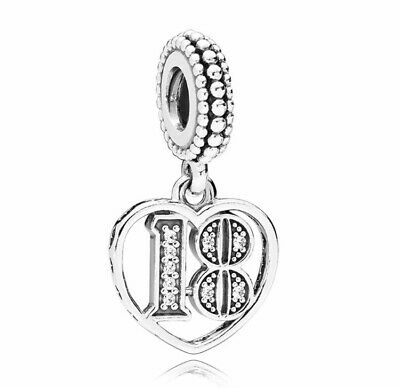 925 Solid Sterling Silver Charm EURO Style Bracelet Teens Age 18 Pandora's Bliss • 11.04£