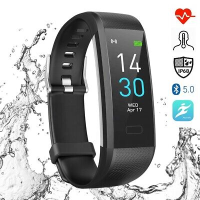 View Details Fitness Pro Fitbit Style Activity Tracker Smart Watch Band Heart Rate Steps • 29.95£