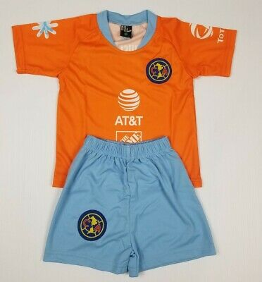 New Club America Kid's Home Soccer Jersey Futbol Mexico Liga Mx Jersey And Short • 16.99$