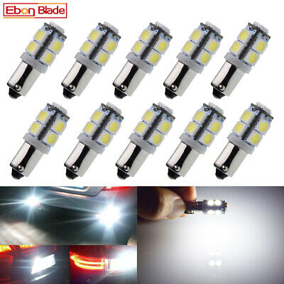 AU21.99 • Buy 10X H6W BAX9S 9 LED 320LM Indicator Side Light Bulb DRL Interior Bulbs 12V White