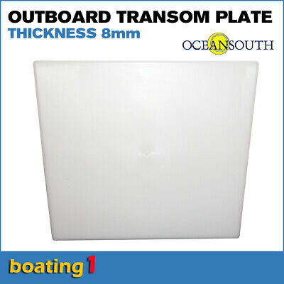 AU24.50 • Buy Outboard Motor Transom Mounting Plate 390 X 330 X 350 X 8mm Thick - Oceansouth