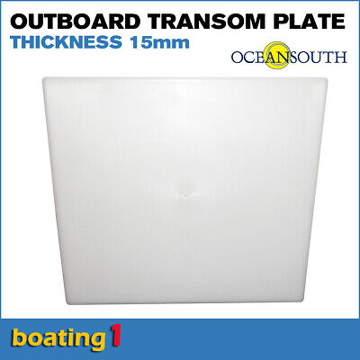 AU29.95 • Buy Outboard Motor Transom Mounting Plate 390 X 330 X 350 X 15mm Thick - Oceansouth