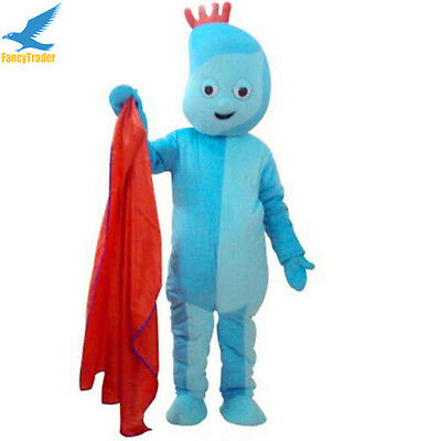 Halloween Iggle Piggle Mascot Costume Game Party Fancy Dress Adults Outfits New • 102.35£