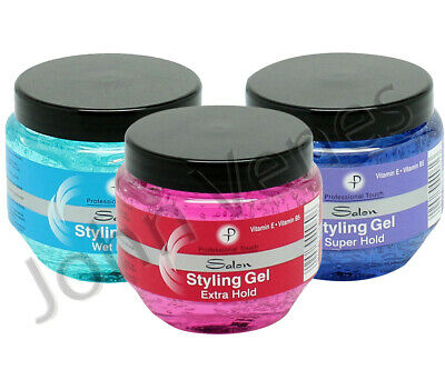 £4.50 • Buy PROFESSIONAL TOUCH Salon   Hair Styling Gel - Extra, Super Hold - Wet Look 250ml