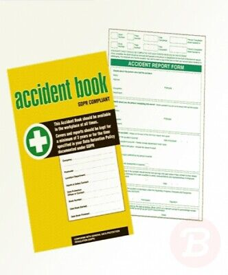 £6.84 • Buy GDPR Compliant Business/Workplace Accident Report Book - A4