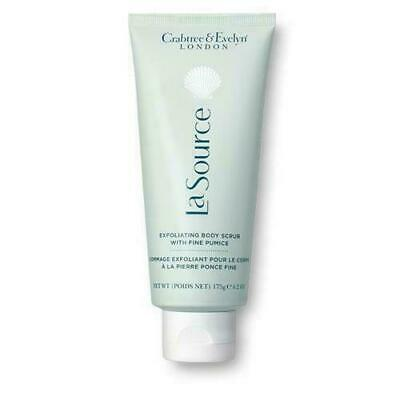 BN 175g Tube Crabtree & Evelyn La Source Exfoilating Body Scrub,with Fine Pumice • 23£