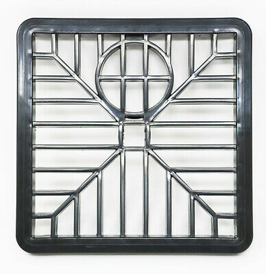 £2.49 • Buy Gulley Grid Drain Cover Grate Lid PVC 6 Inch 150mm X 150mm Square Leaf Cover