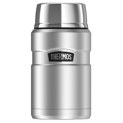AU104.95 • Buy Thermos STAINLESS KING VACUUM INSULATED FOOD JAR 710ml Wide Mouth, Serving Bowl