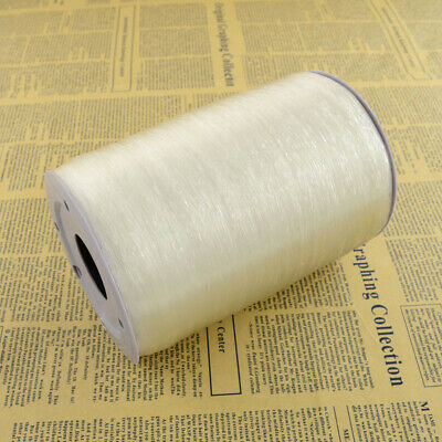 £2.11 • Buy 1mm Elastic Stretchy Beading Thread Cord FOR BRACELETS  Jewellery Clear X 10m