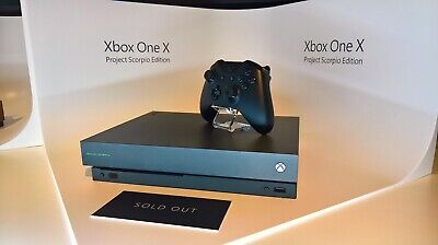 $599.99 • Buy [GAME BUNDLE] Xbox One X Project Scorpio Edition 1TB Console - Black + Two Games