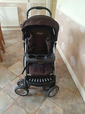 Graco Travel System With Car Seat, Moses And Rain Cover • 120£