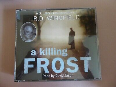 A Killing Frost: (Di Jack Frost Book 6) By R. D. Wingfield (CD-Audio, 2008) • 10£